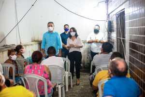 Edilma Freire se reúne com população da Torre e defende ações em mobilidade urbana e infraestrutura
