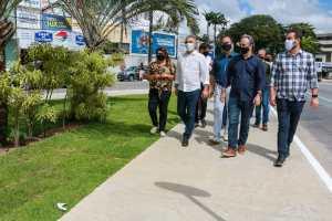 Luciano Cartaxo entrega primeira etapa de padronização da Avenida Epitácio Pessoa