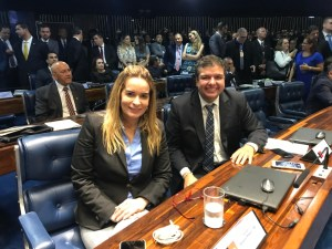 Daniella dá as boas-vindas a Diego Tavares, que anuncia filiação ao Progressistas