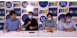 Conforme antecipado pelo Blog, Romero anuncia apoio do PSD a Ruy Carneiro