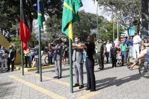 Daniella participa de solenidade da Independência em Campina Grande e destaca importância do amor à Pátria para o desenvolvimento do Brasil