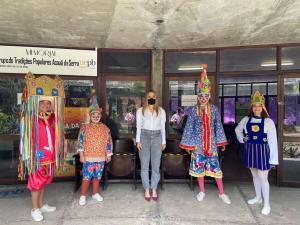 Daniella participa de evento de lançamento de editais para liberação de R$2,6 milhões para artistas de Campina Grande através da Lei Aldir Blanc