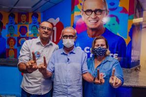 Partido que apoiou Virgolino no primeiro turno em João Pessoa, declara apoio a Cícero Lucena
