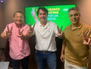 Diretor da Funjope, Maurício Burity declara apoio a Nilvan Ferreira no segundo turno