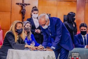 Em primeiro ato de governo, Cícero Lucena anuncia desmembramento e criação de secretaria
