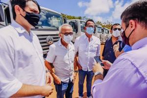 Cícero Lucena inicia operação de limpeza urbana no bairro Cidade Verde e visita Aterro Sanitário Municipal