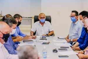 Cícero reúne secretários e avalia ações no período de Carnaval e monitoramento dos efeitos da chuva
