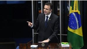 Com apoio de Bolsonaro, Rodrigo Pacheco é eleito presidente do Senado