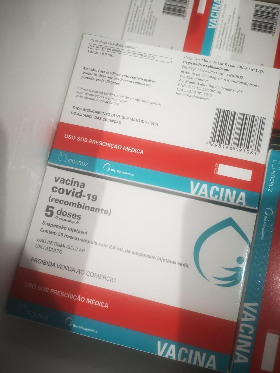 Governo distribui vacina contra Covid-19 e municípios vão imunizar idosos acima de 65 anos na PB