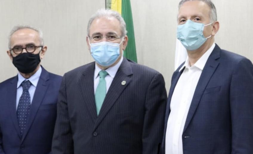 """""""Temos convicção de que as medidas necessárias serão tomadas"""", diz Aguinaldo sobre vacinação em JP após reunião com Cícero e ministro Marcelo Queiroga"""