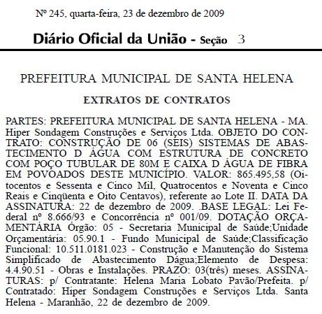 Contrato sugere conexão entre ex-prefeita e empresa investigada