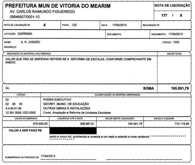 Nota fiscal pode revelar  se prefeitura pagou por serviços não realizados