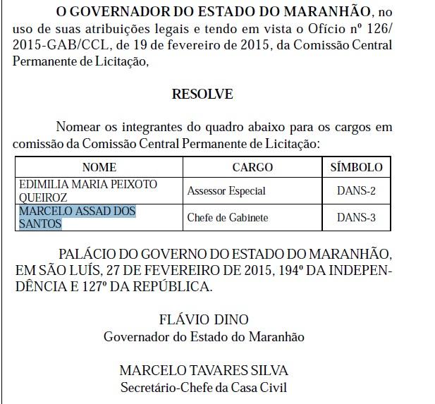 Marcelo Poeta foi nomeado como chefe de gabinete da CCL em janeiro.