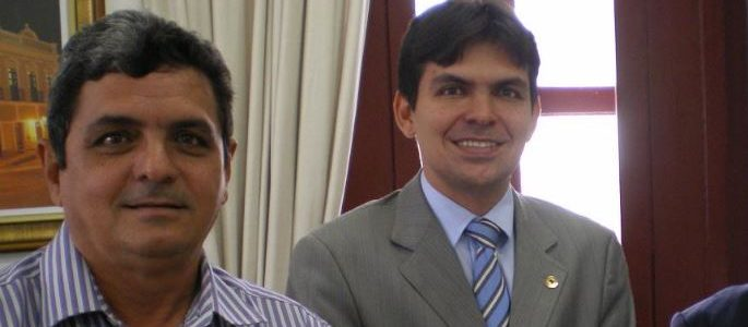 FIluca Mendes e seu filho Victor Mendes.