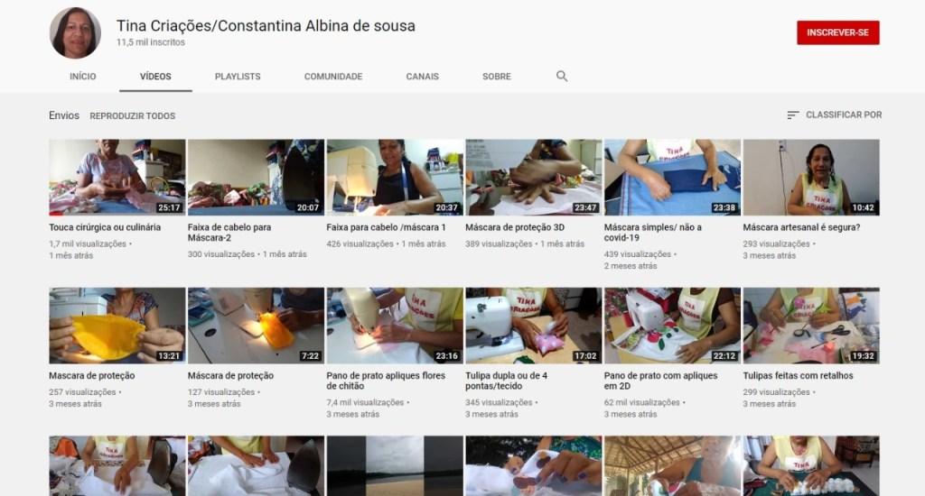 Mãe de Rogério Albino usada como laranja pelo próprio filho é costureira e tem um canal no YouTube