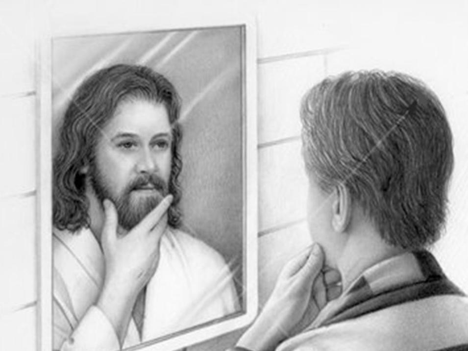 reflexo jesus