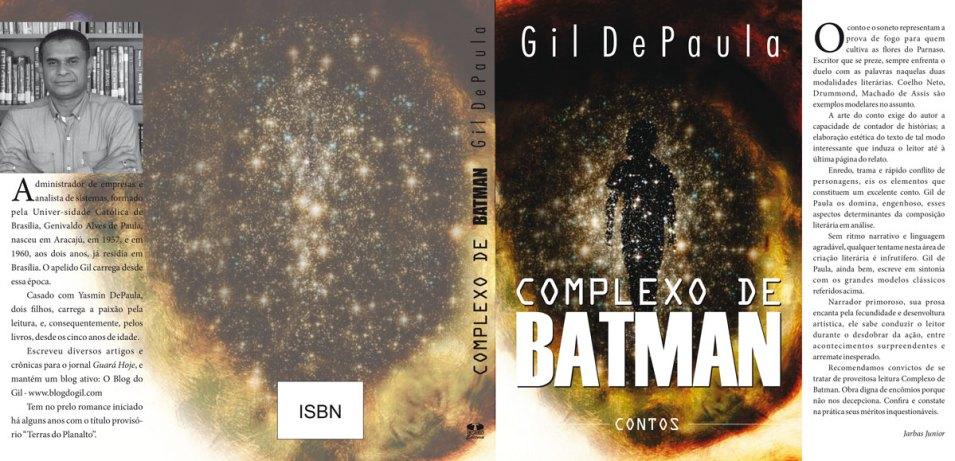 """Capas-CB-Gil O MORTO - Um Conto do Livro """"COMPLEXO DE BATMAN"""""""