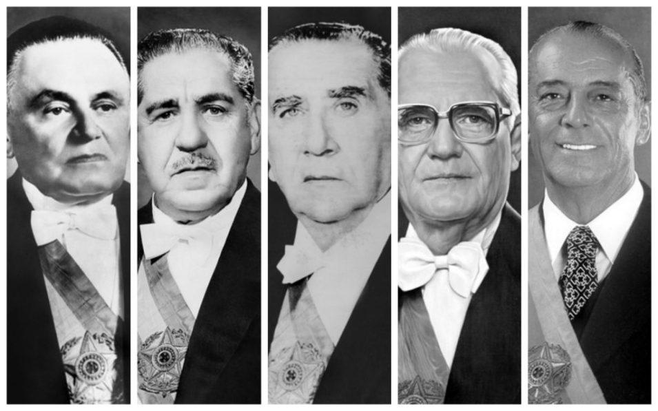 presidentes-ditadura2 1964: O Ano no Qual o Brasil Sangrou