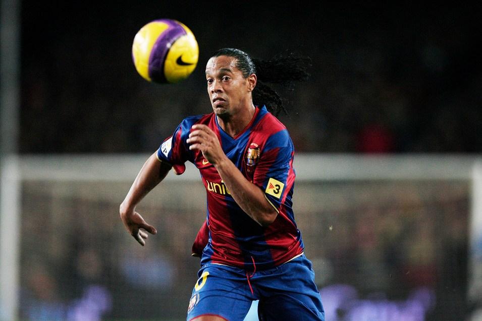 Ronaldinho Os Dez Jogadores Que Mais Marcaram Gols de Falta no Futebol