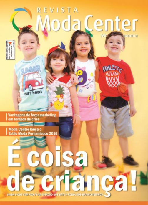 Capa - Revista Moda Center 63