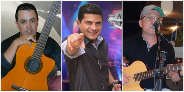Josivan Junho, Adriano Marlly e Galego Show são as atrações do evento - Fotos: Divulgação