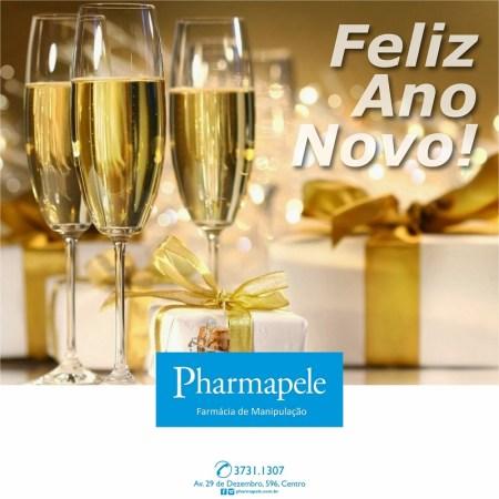 Pharmapele - Feliz Ano Novo