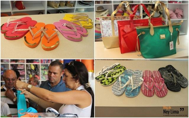 Chinelos personalizados masculinos e femininos, e belíssimas bolsas femininas estão em oferta!