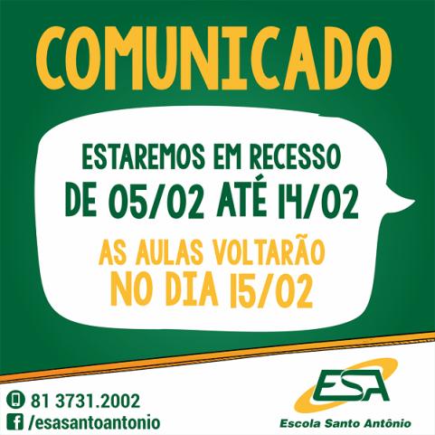Comunicado ESA