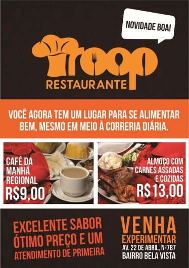 Troop Restaurante-Banner