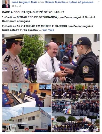 Imagem: Rede Social.