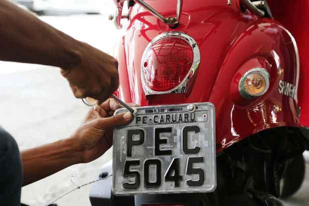 Um total de 27.946 cinquentinhas foram emplacadas em Pernambuco, apenas 30% da frota.
