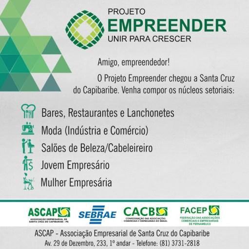 ASCAP Projeto Empreender - Núcleos