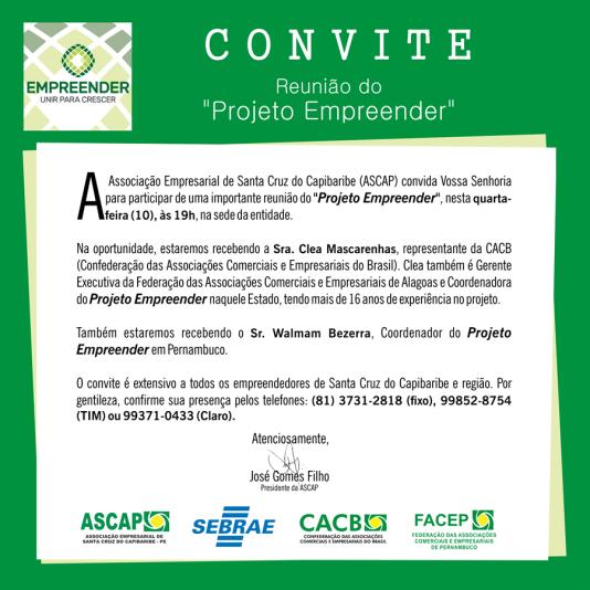 Ascap Convite