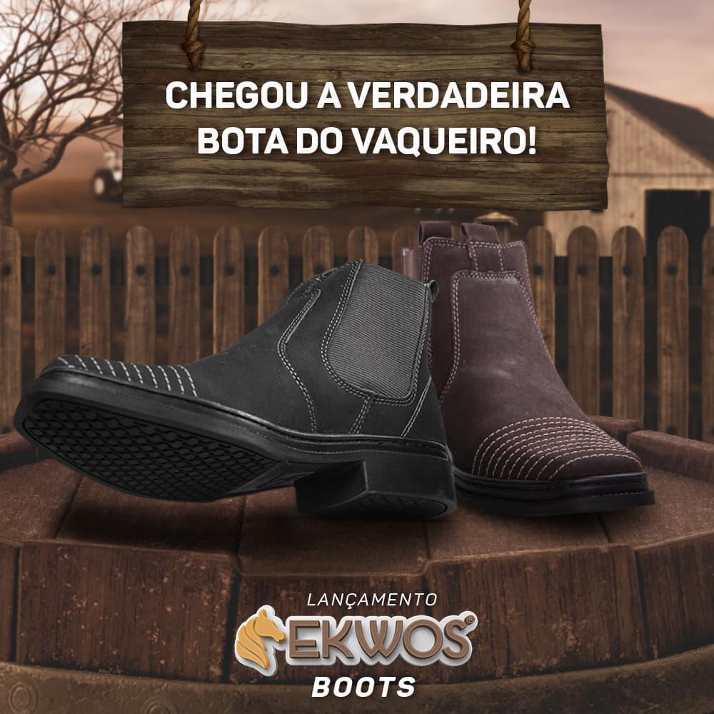 Ekwos lança bota de vaqueiro e amplia mix de produtos  ec64dc1d6f4eb