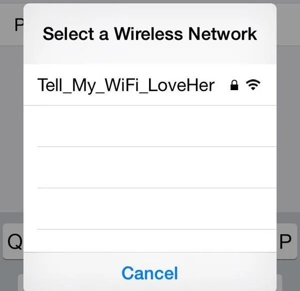 funny wireless network names
