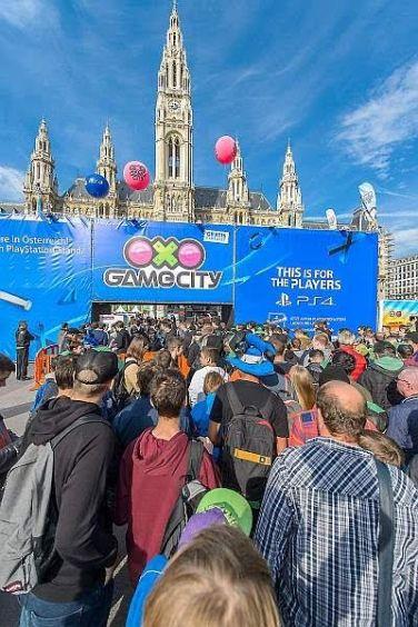 Game-City Spielemesse Tag 2,Wiener Rathaus, Wien, 3.10.2015,