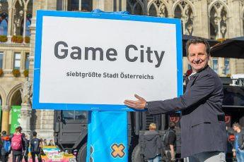 Pressefrühstück und Eröffnung Game-City Spielemesse,Wiener Rathaus, Wien, 2.10.2015,Christian OXONITSCH