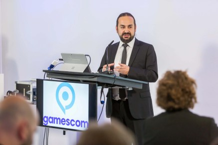 gamescom 2016, Pressekonferenz in Berlin, Tugbek Olek, Co-Founder of Seti Media, Head of Advisory Board of TOGED