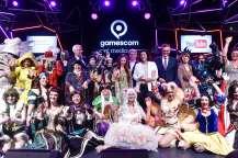 Eröffnung gamescom 2016, social media stage, Halle 10.1