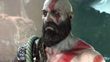 God Of War Kratos Und Atreus In Ubergrosse Making Of Ps4