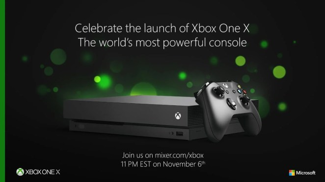 Xbox One X Launch Bild 1