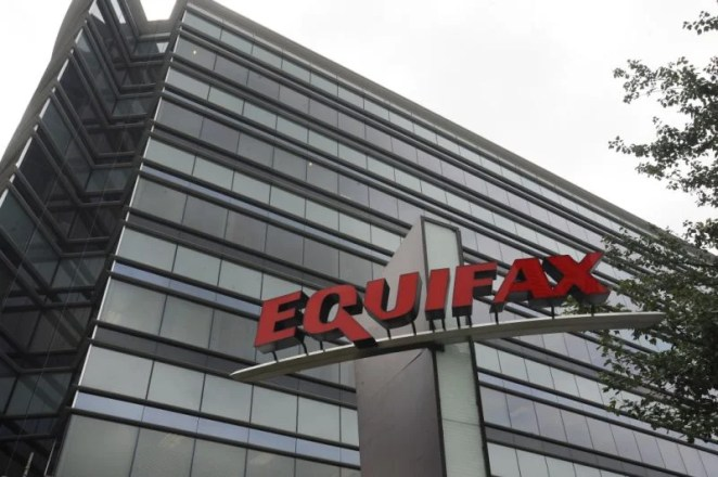 Equifax reported thatthe account information of 143 million has been hacked.(AP Photo/Mike Stewart)