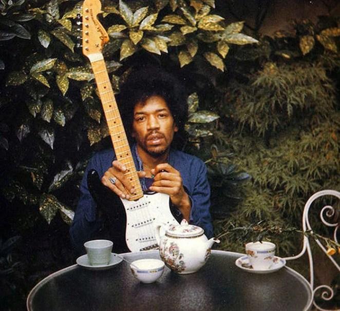 Jimi Hendrix, 27, 1942-1970