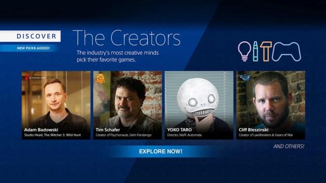 Discover the Creators