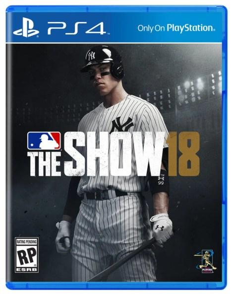 MLB The Show 18 Box Art