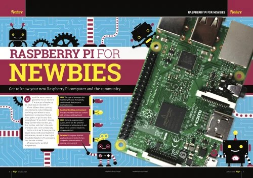 Raspberry Pi MagPi 65 Newbie Guide