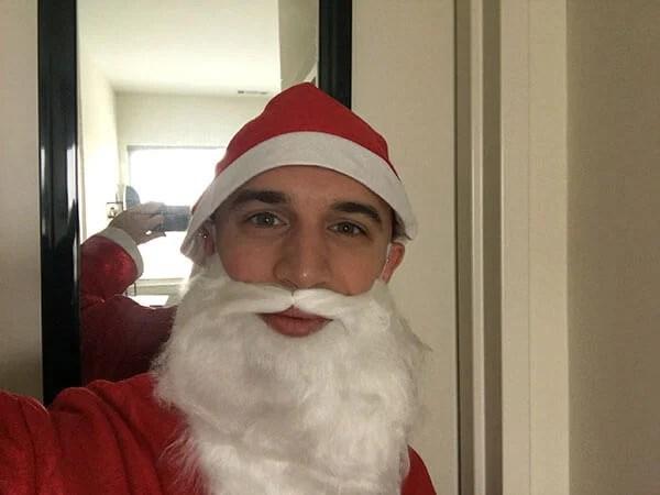 Raspberry Pi 'Not Santa' detector