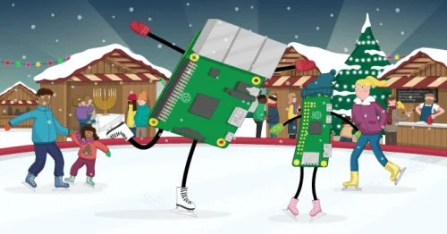 An ice-skating Raspberry Pi - The Raspberry Pi Christmas Shopping List 2017