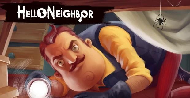Hello Neighbor Key Art