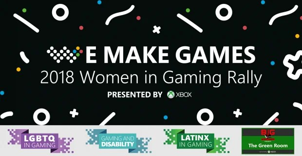 Women in Gaming GDC 2018 Large Image